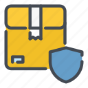 box, delivery, package, parcel, safety, security, shield