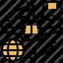 air, airmail, cargo, express, international icon