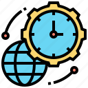 delivery, express, service, speed, time icon