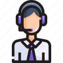 avatar, people, service, support, supporter icon