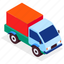 truck, lorry, delivery, logistics icon