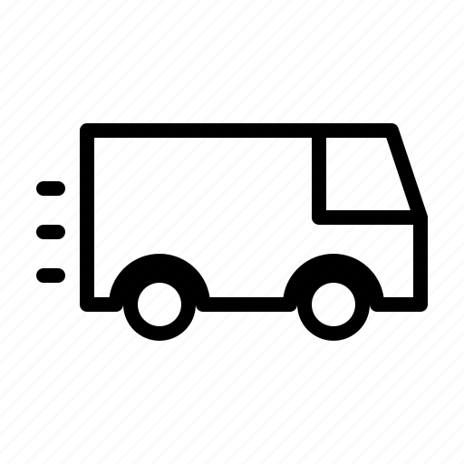 carry, delivery, express, factory, goods, logistics, truck icon