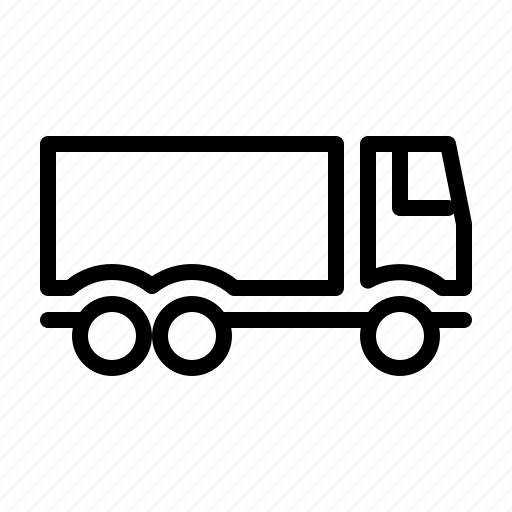 carry, factory, goods, logistics, truck icon