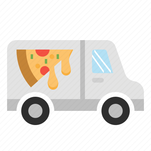 delivery, food, online, pizza, restaurant, service icon