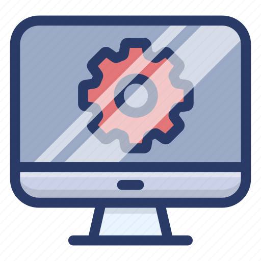 computer development, computer setting, system preference, system settings, web optimization icon
