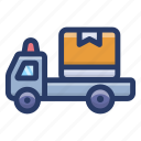 cargo, delivery truck, delivery van, logistic delivery, shipment, shipping truck icon