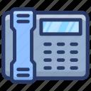 cordless phone, office phone, telecommunication, telephone, vintage landline icon