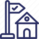 cargo office, export trading, logistic company, post office, trading company icon