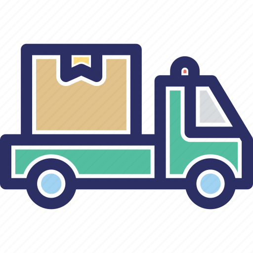 cargo, delivery truck, delivery van, logistic delivery, shipment icon