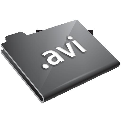 avi, grey icon