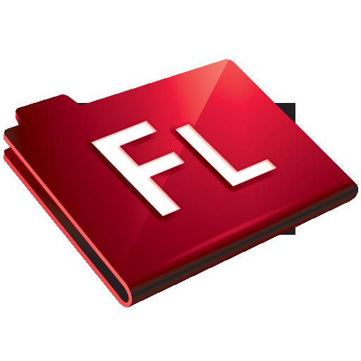flash, folder icon
