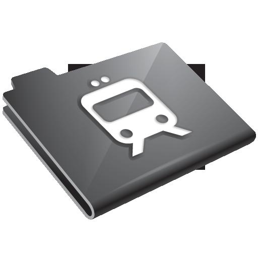 grey, radio icon