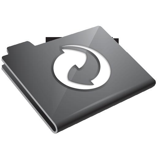 grey, refresh icon