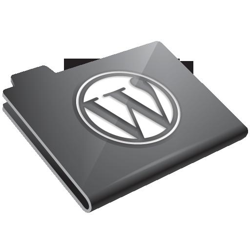grey, wordpress icon