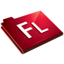 flash, folder icon