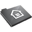 home, grey, house, folder