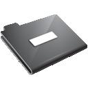 minus, grey, folder