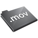 grey, mov icon