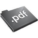 pdf, grey, folder