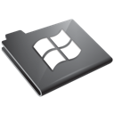 grey, windows icon