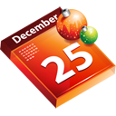calendar, christmas, december, december 25 icon