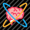 atom, brain, center, degenerative, disease, illness, memory