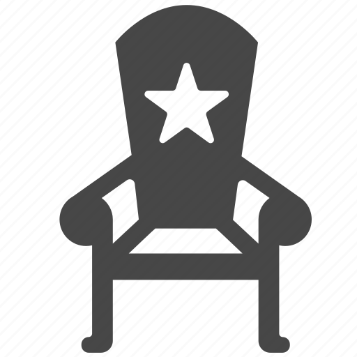 boss, chair, chairman, cheif, political, position, president icon