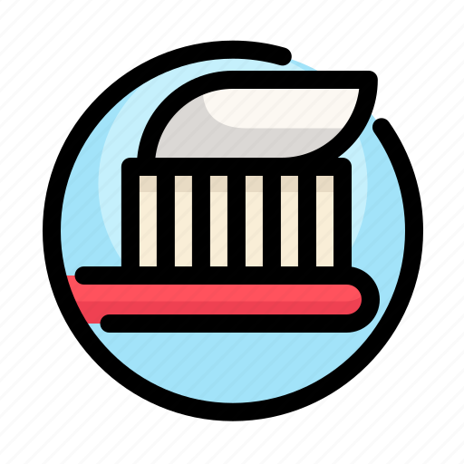 dental, dentist, medical, tooth, toothbrush, toothpaste icon