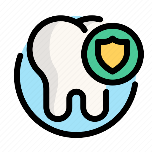 dental, dentist, medical, protect, tooth icon