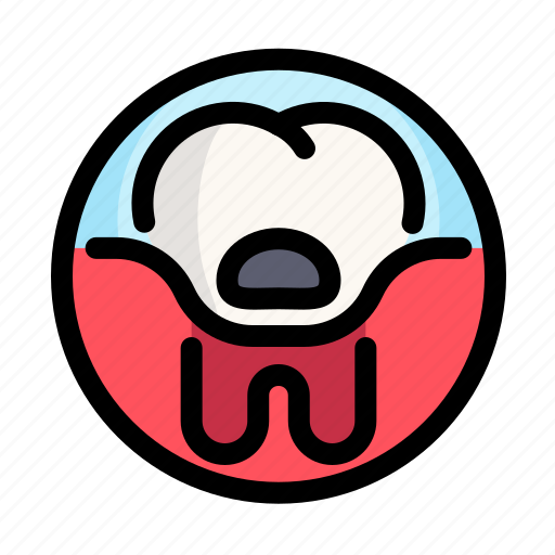 caries, dental, dentist, medical, pain, tooth icon