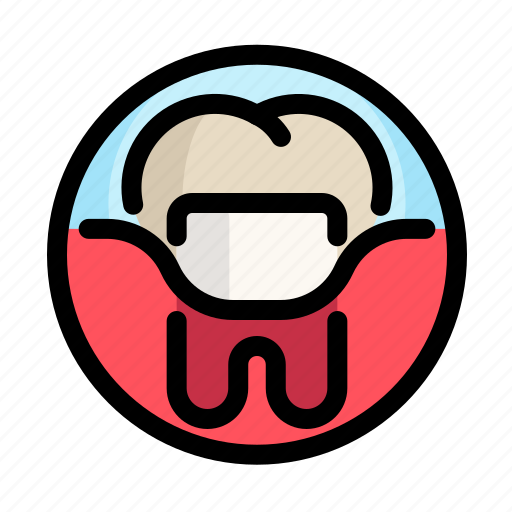 caries, crown, dental, dentist, implants, medical, tooth icon