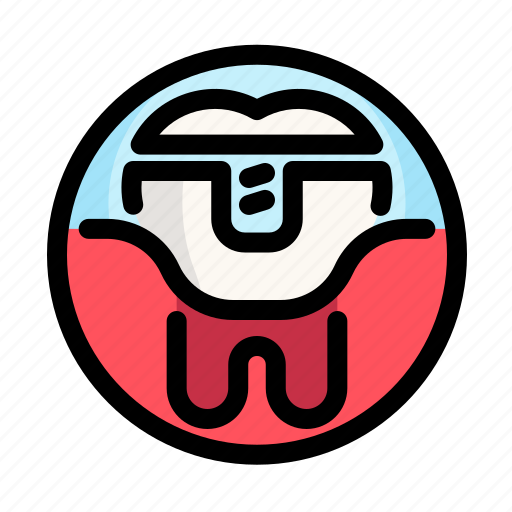 caries, dental, dentist, medical, tooth icon