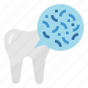 bacteria, dental, healthcar, medical icon