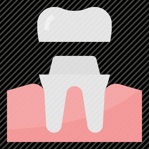 crown, dental, healthcare, medical icon