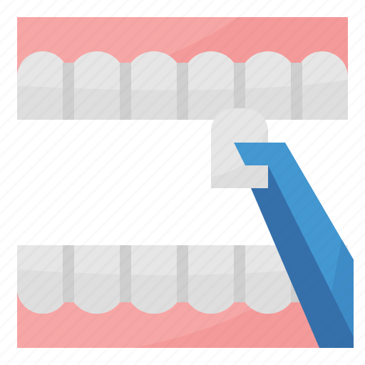 dental, healthcare, medical, veneer icon