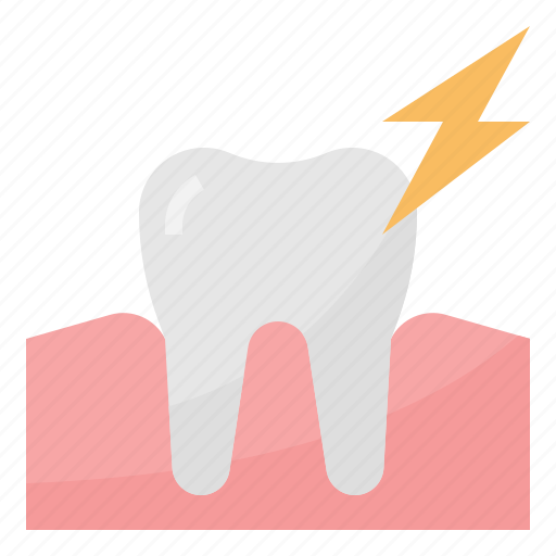 healthcare, hygiene, medical, toothache icon