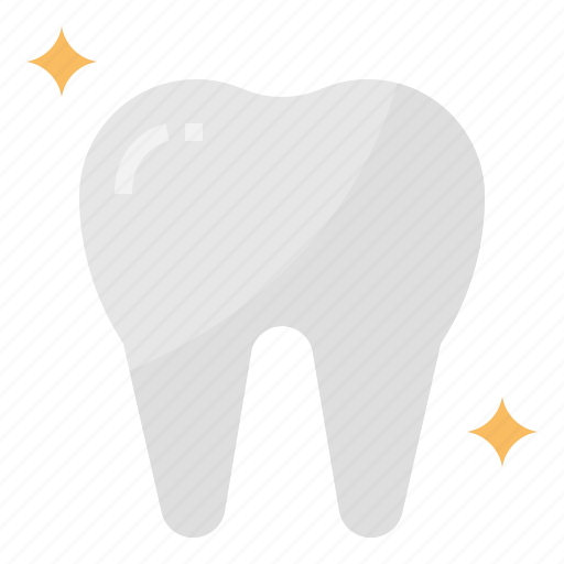 dental, healthcare, tooth, white icon
