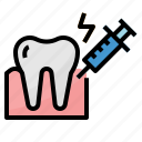 anesthetic, dental, healthcar, medical icon
