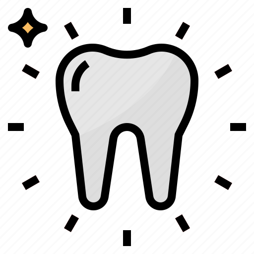 Bright, dental, dentist, medical, tooth icon - Download on Iconfinder