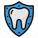 dental, healthcar, medical, protection icon