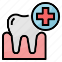 dental, medical, treatment icon