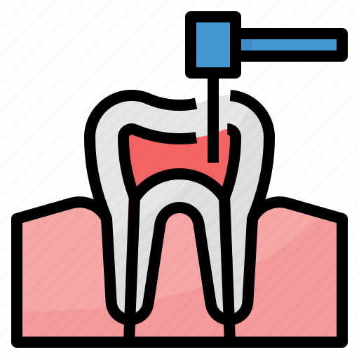 Canal, dental, healthcare, medical, root icon - Download on Iconfinder