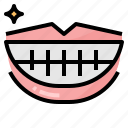dental, hygiene, medical, mouth, smile icon