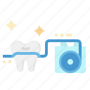 care, dental, floss, hilo, oral icon