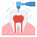 care, dentist, drilling, healthcare, tooth icon