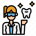 dentist, doctor, jobs, medical, professions icon