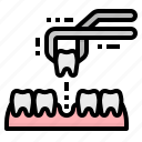 dentist, extract, extraction, teeth, tooth icon