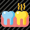 teeth, yellow, tooth, dental