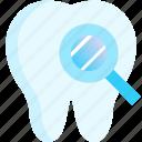 check, dental, examine, teeth, tooth icon