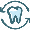 dental, dental care, dentist, doodle, medical, oral hygiene, tooth icon